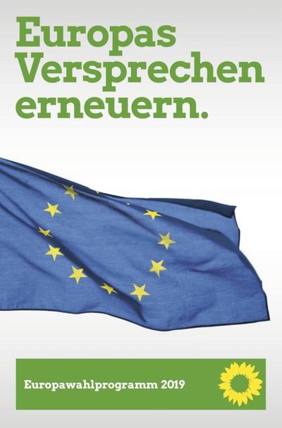 Grüne Wahlprogramm Europawahl
